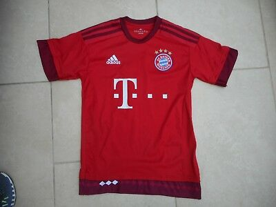 Adidas Fc Bayer Munchen Shirt * Lewandowski 9* Fit 13-14  Yrs