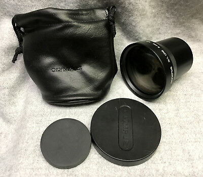 Olympus B-300 IS/L H.Q. 1.7X Tele-Converter Lens  55mm Very Good Condition