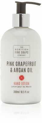 Scottish fine soaps Pink grapefruit and Argan Oil Hand Lotion 300ml