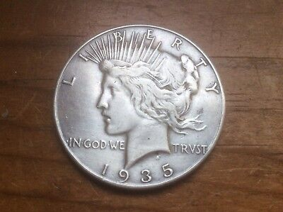 1935-P PEACE DOLLAR, a VERY NICE  COIN must see.. Lot c30