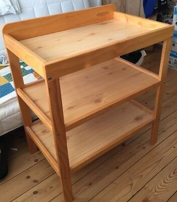 John Lewis Wooden Baby Changing Table in good condition