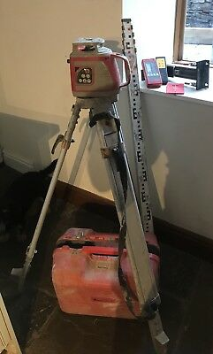Rotary Self Levelling Laser Level 360 Including Staff And Tripod