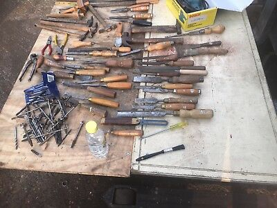 Woodworking tools job lot