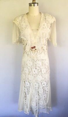 Susan Lanes Country Elegance Vintage Victorian Wedding Dress Lace Downtown Abbey