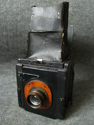 Vintage Pressman Camera with Taylor Cooke Series 3  6 1/2 x 4 3/4 inches E focus