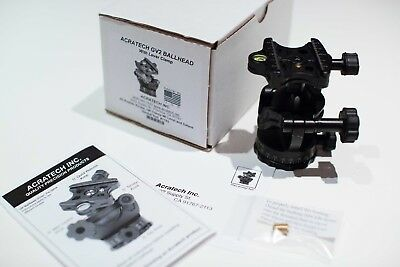 Acratech GV2 Ball Head/Gimbal Head with Lever Clamp, Supports 25lb REFURBISHED