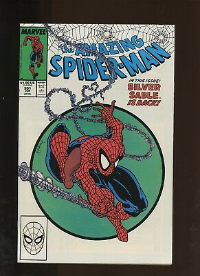 Amazing Spider-Man 301 VF+ 8.5 * 1 Book Lot * Silver Sable! Todd McFarlane!