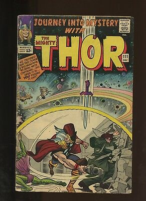Journey Into Mystery 111 PR 0.5 * 1 Book Lot * 2 Thor Stories by Lee & Kirby!