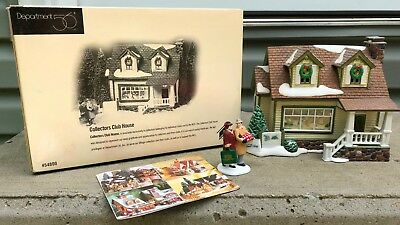 Dept 56 NEW COLLECTORS CLUB HOUSE Snow Village RETIRED #54800