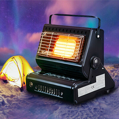 Portable Flueless Gas Heater Patio Outdoor Camping Fishing Cooker BBQ Grill AU