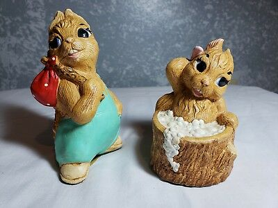 Pepiware hand painted figurines made in England