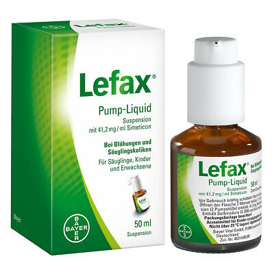 Lefax Pump-Liquid Suspension 50ml PZN 02563842