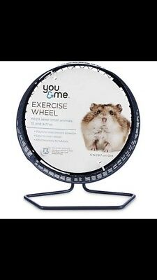 Hamster Wheel! Great for exercising obese hamster and hamsters who love to play!