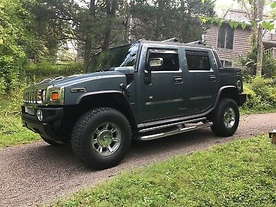 2005 Hummer H2 SUT LUXURY 2005 HUMMER H2 SUT 6.0L VORTEC LOADED ALL OPTIONS SOLID STEALTH GRAY EXCELLENT
