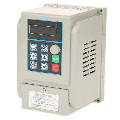 AC220V Single-phase Variable Frequency Drive Speed Controller 2.2kW Motor VFD wt
