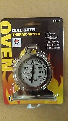 OVEN / RANGE THERMOMETER Hanging Clip - 150 to 550 Degree TEMPERATURE READING