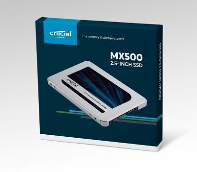 Crucial MX500 500Go SATA3 6Gb/s CT500MX500SSD1 2.5-inch Solid State Drive SSD