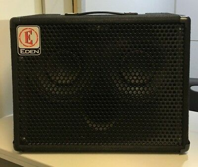 Eden Bass Amp Ec 28 Solid State Used In Good Condition