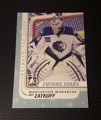 10/11 Between the Pipes #65  Jeff Zatkoff Neu!! Straubing Tigers