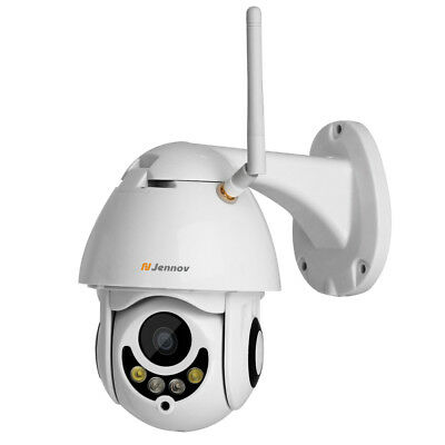 Wireless Full HD 1080P WIFI Security IP PTZ Camera Outdoor Audio Night Vision