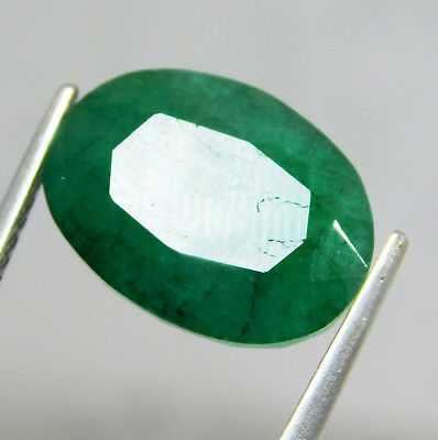 Natural 6.65 Cts. Beautiful Oval Cut Colombian Loose Emerald Gems.11030 KL