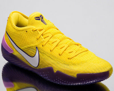 online store 75ca4 aca2c NIKE KOBE AD NXT 360 Lakers Men New Mamba Yellow Basketball Sneakers  AQ1087-700