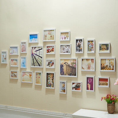 MULTI SIZE PHOTO Picture Frame Set Home Décor Living Room Collage ...