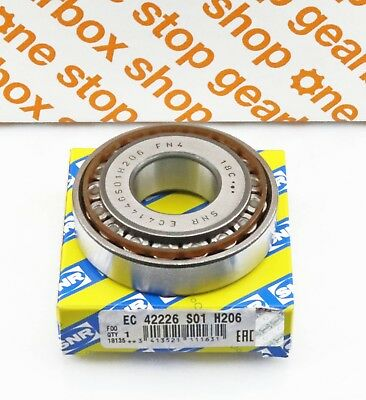 Snr O.e. Gearbox Bearing Ec.42226.S01.H206 Replaces Np417384/Y30206M