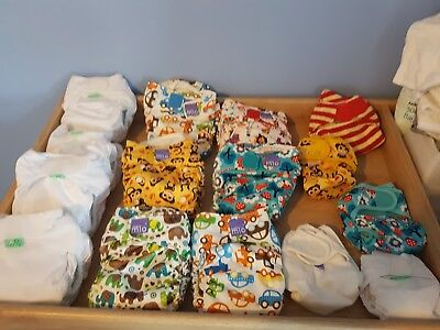 All birth to potty bundle with bucket and laundry bag. Excellent condition!