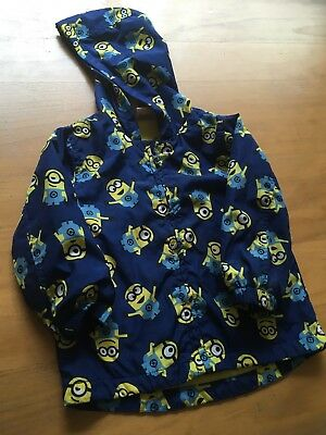 Despicable Me Minion  Boys  Light Weight Raincoat Age 12 - 18 Months