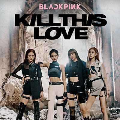 BLACKPINK [KILL THIS LOVE] 2nd Mini Album PINK CD+POSTER+PBook+Card+F.Poster+etc
