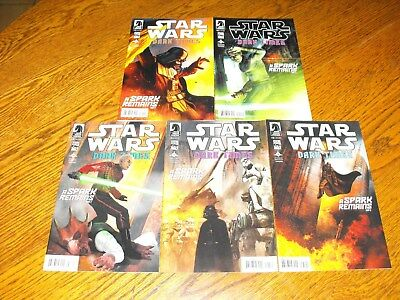 Star Wars Dark Times A Spark Remains Dark Horse Comics #1-5 Complete Set