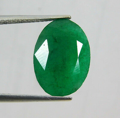 Natural 8.55 Cts. Beautiful Oval Cut Colombian Loose Emerald Gems. 10987kl