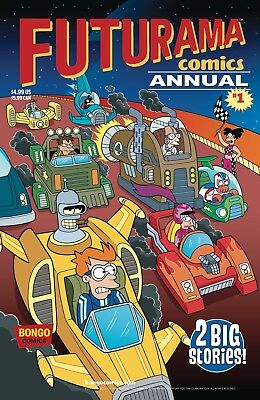 FUTURAMA ANNUAL #1 (2018) - Regular Cover - New Bagged