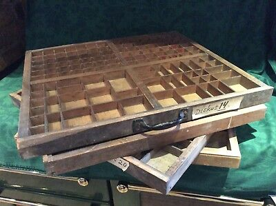Four Wooden Printers Drawer  ( 57x52 CMS). Used Condition