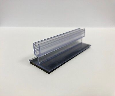 """3"""" Clear Magnetic Retail Grip Sign Holders, NEW, 48 pieces"""