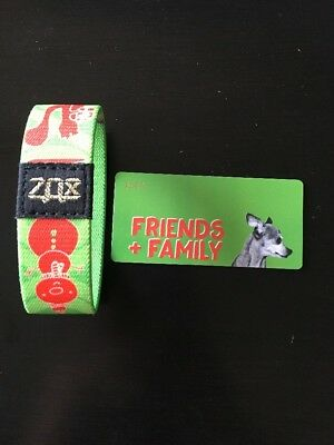 Zox Strap Wristband Gold Christmas F&F 0035