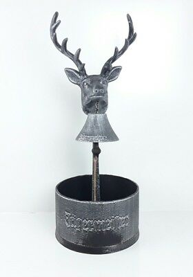 Jagermeister Stage Bar Bell Pewter -  Jager Man Cave Bourbon Whiskey