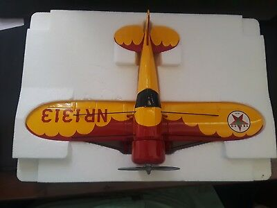 "1930 Texaco Air Model R ""Mystery"" Die-Cast Bank Plane (1998 Collectors Edition)"