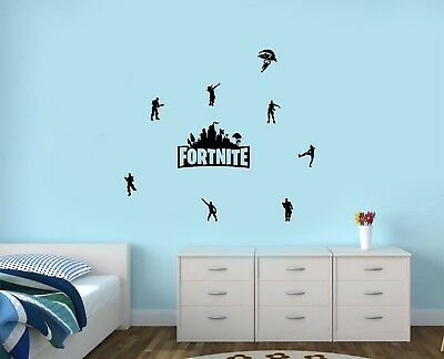 Fortnite Gaming Characters Dance Sticker Pack/Wall Art Sticker/Decals