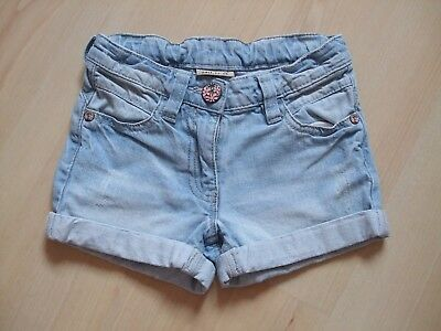 Next Pale Blue Distressed/faded Cotton Denim Jeans  Shorts  Age  - 3 Years