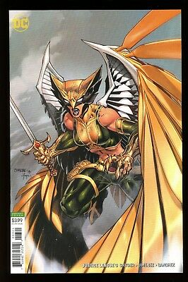 Justice League  #3    * Variant *  Jim Lee  Hawkgirl Cover         Nm