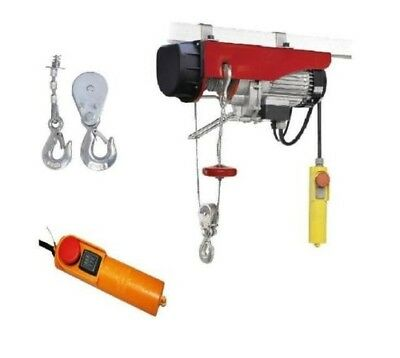 Electric Winch Garage Workshop Hoist Scaffolding 125/250KG 200/400KG 300/600KG