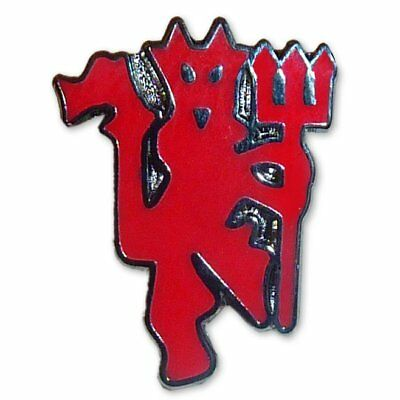 Manchester United Small Red Devil Badge