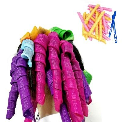 New 2018 DIY Magic Hair Curlers Curl Formers Spiral Ringlets Leverage Rollers