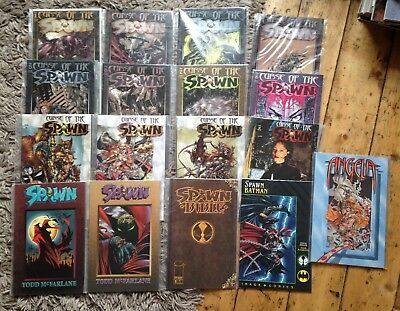 Spawn Comics Job Lot, Spawn Vol 1 & 3, Curse of the Spawn 1-12, Spawn v Batman