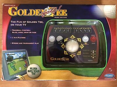golden tee golf: home edition that plugs into the tv