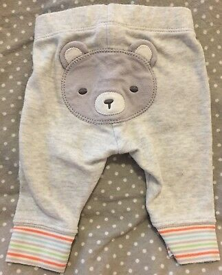 EUC Gymboree rainbow bear pants newborn 0 months preemie unisex boys girls