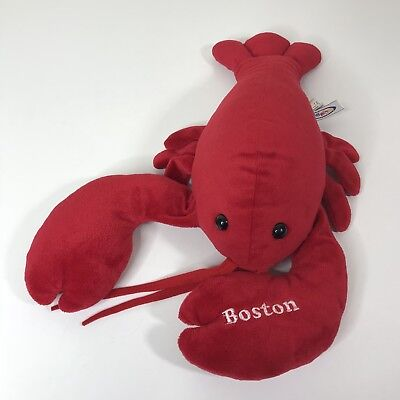 Mary Meyer Red Lobster Plush Toy Stuffed Animal Boston 17 14 99