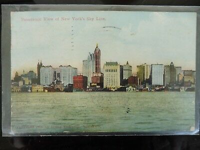 Panoramic View of New York´s Sky Line ca. 1903